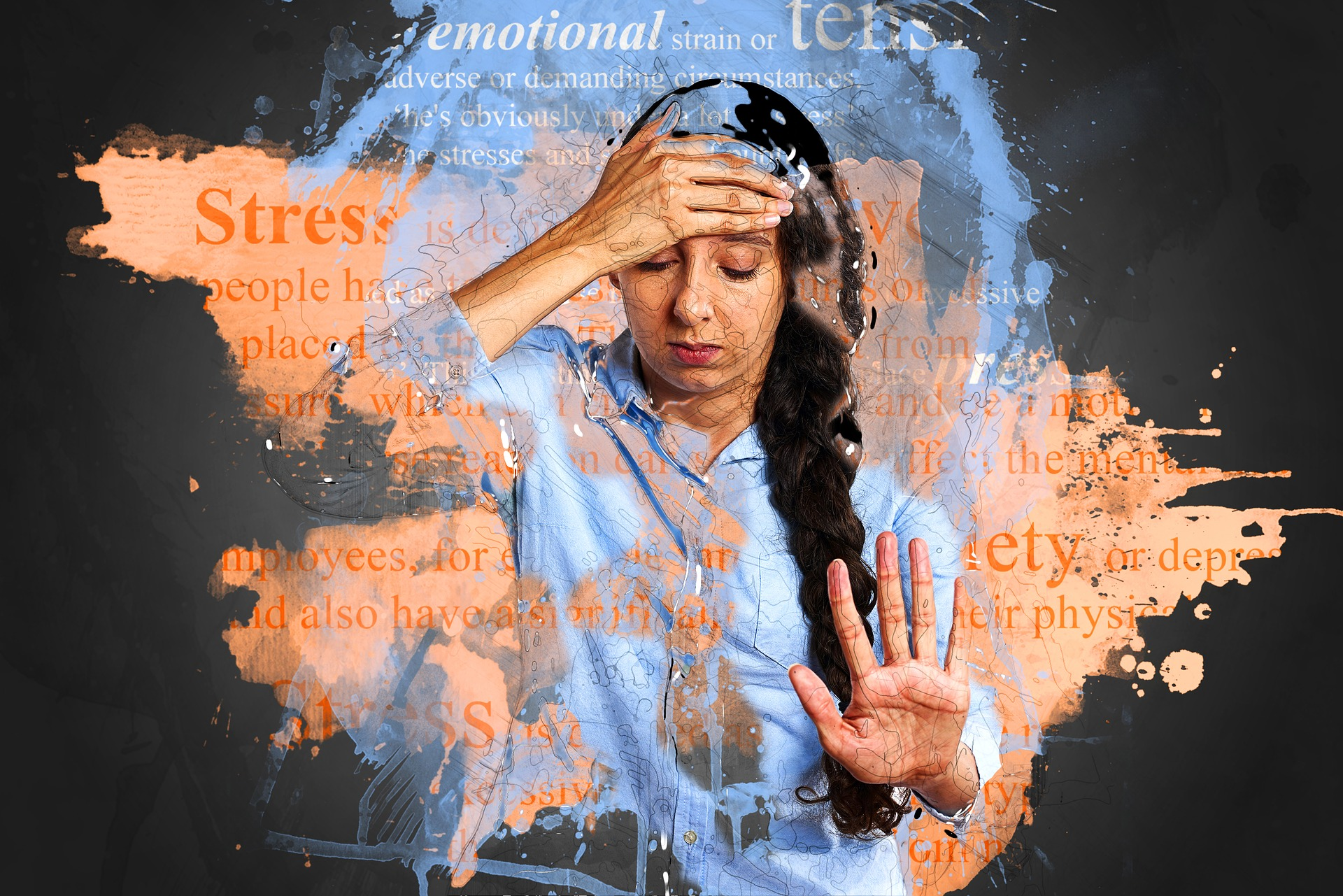 Anxiety - stress from the inside